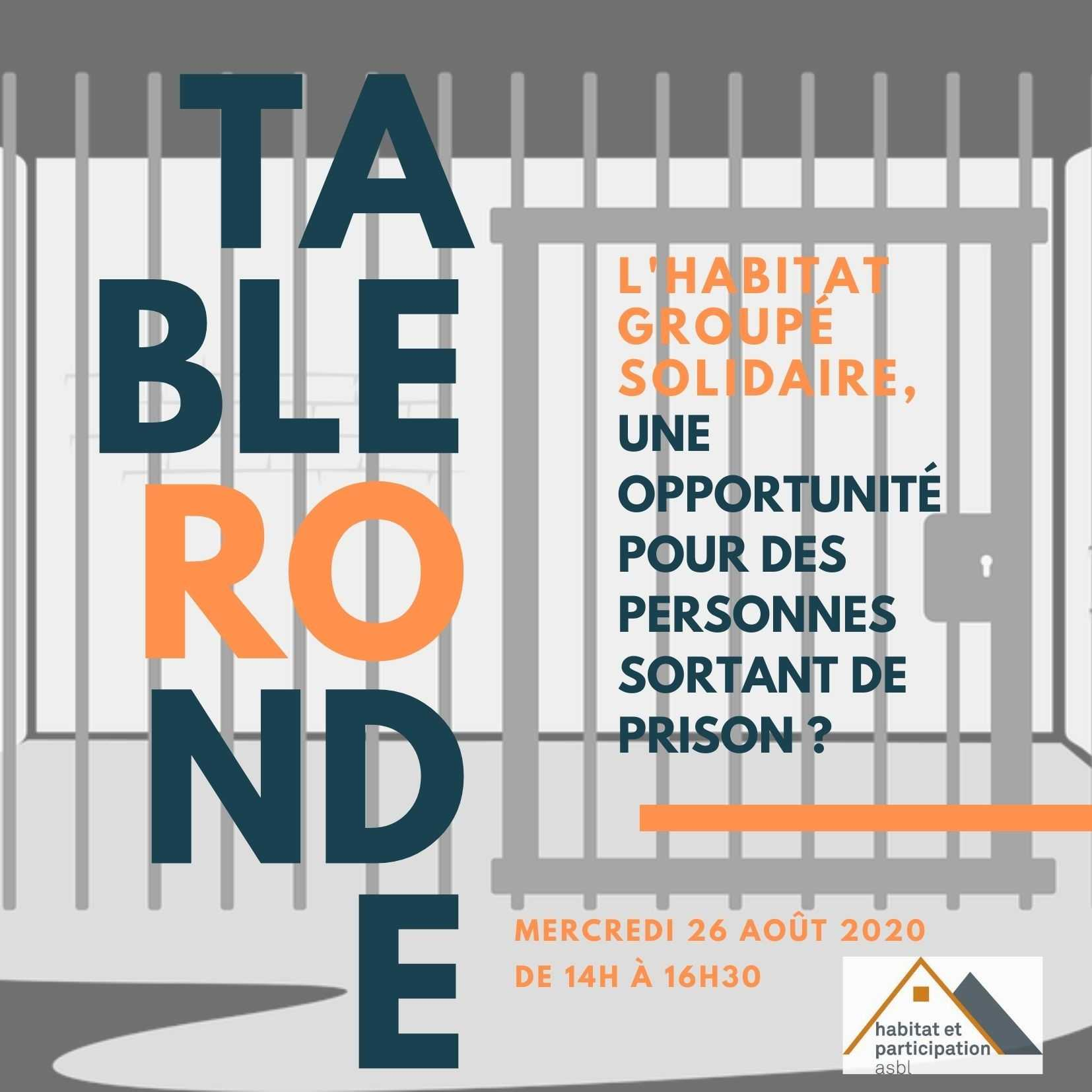 L'habitat solidaire, opportunité pour les personnes sortant de prison? La table ronde d'Habitat & Participation